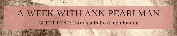 A Week with Ann Pearlman - Guest Post