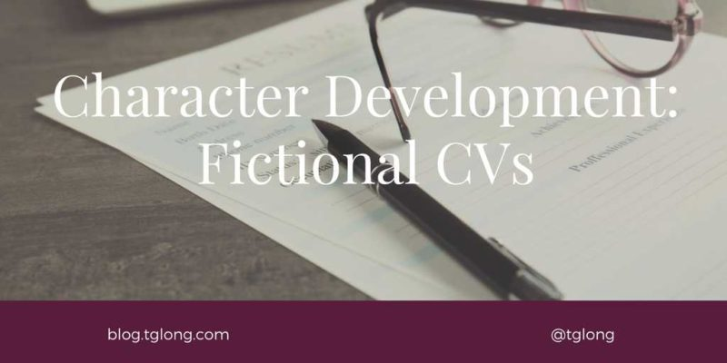 Character Development - Fictional CVs
